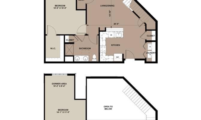 Loft Apartment Floor Plans Home Decor Takcop