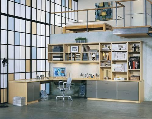 Loft Home Office Studio Custom Closets