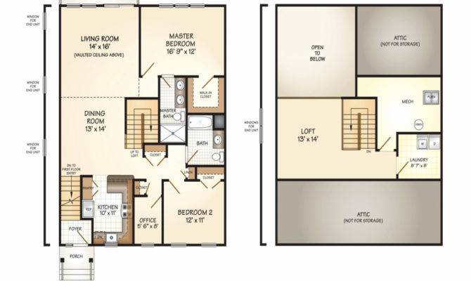 Loft Home Plans Awesome Small Cabin Plan