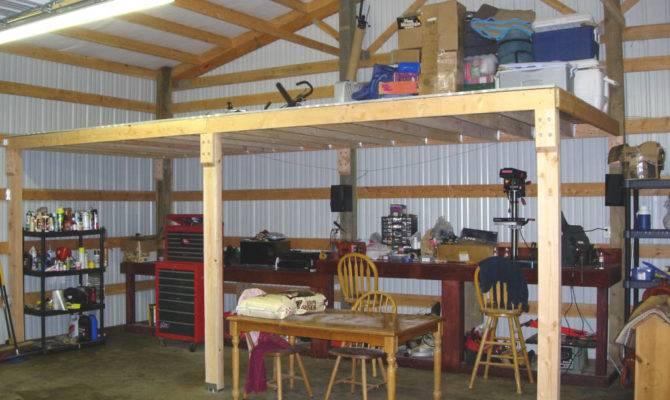Loft Pole Barn General Discussion Can Atv