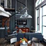 Loft Tour Retro Industrial Design Home Pinterest
