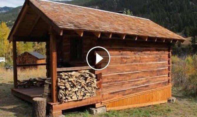 Log Cabin Build Woodworking Crazy
