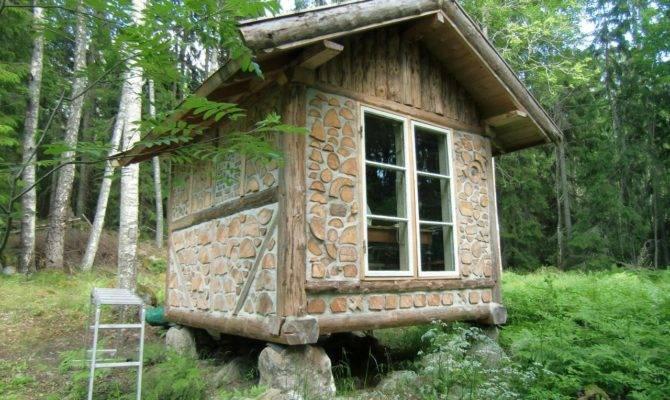 Log Cabin Cordwood Construction Dot WordPress Small House Tiny