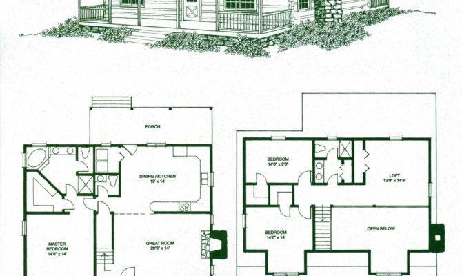 Log Cabin Floor Plan Kits Plans