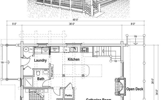 Log Cabin Home Plans Loft Woodworktips