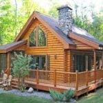 Log Cabin House Plans Porches