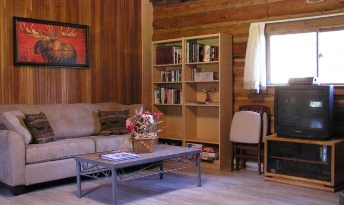 Log Cabin Living Room Small Cabins Build