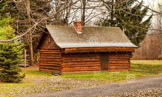 Log Cabin Outdoor Nature Cottage