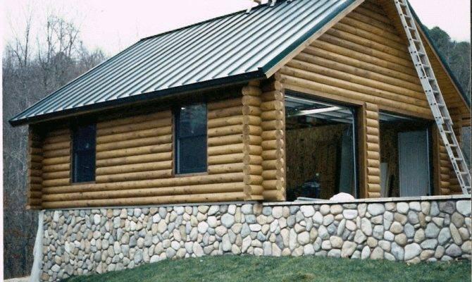 Log Garage Loft Ozarkloghomesupply