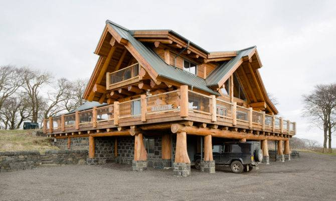 Log Home Fleming Ratho