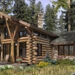 Log Home Floor Plan Blogrustic Luxury Cabins Plans