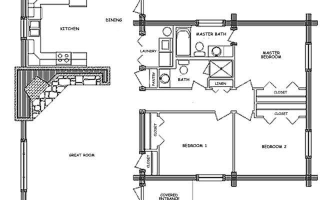 Log Home Floor Plan Pioneer