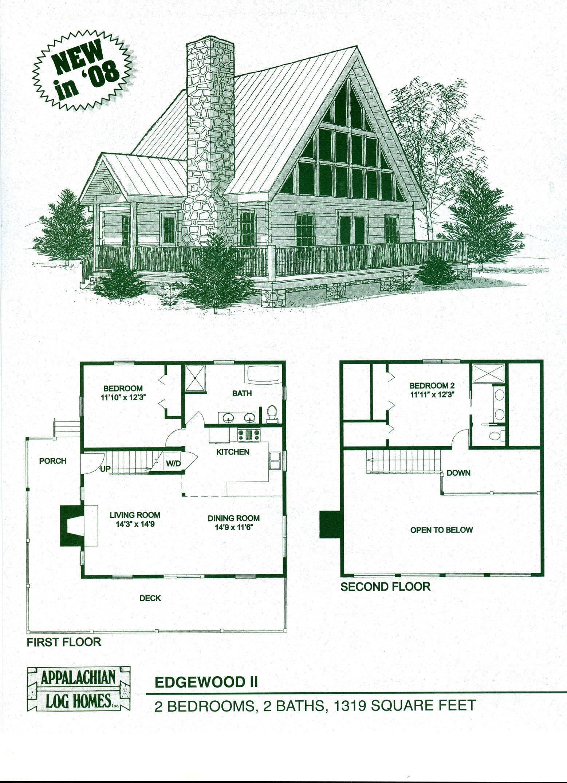 Log Home Floor Plans Cabin Kits Appalachian