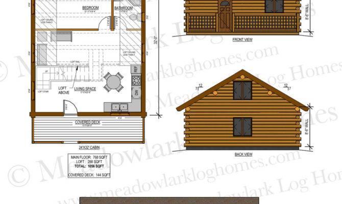 Log Home Floor Plans Loft