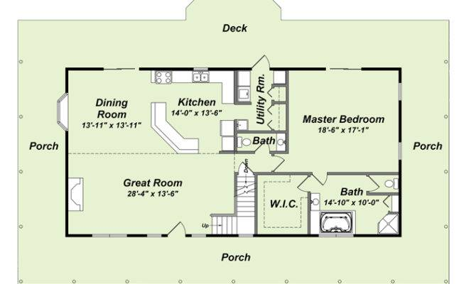 Log Home Floor Plans Mountain Creations Homes Wolfe Run