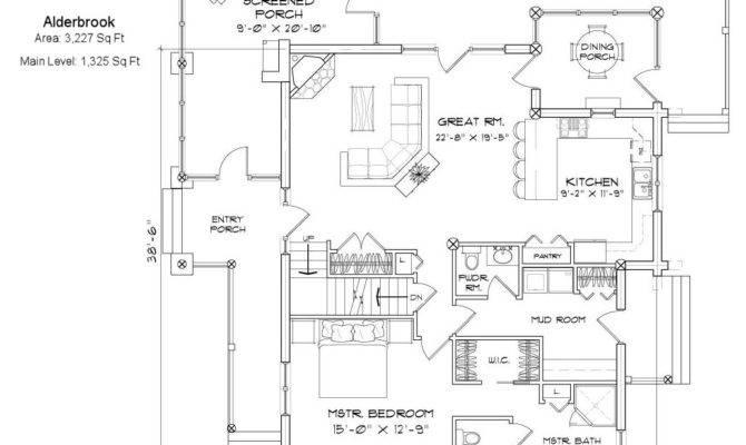Log Home Plans Designs