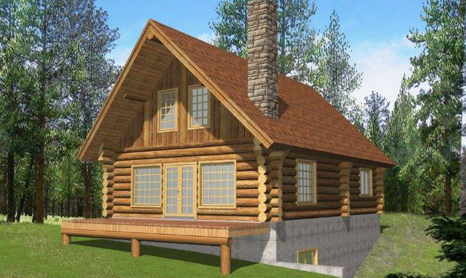 Log Home Plans Loft Smalltowndjs