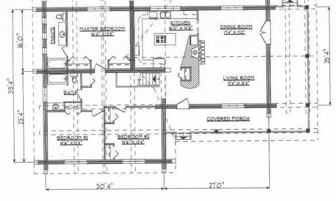 Log Home Plans Ranchers Dds