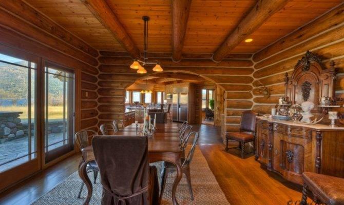Log Home Tour Whitefish Estate