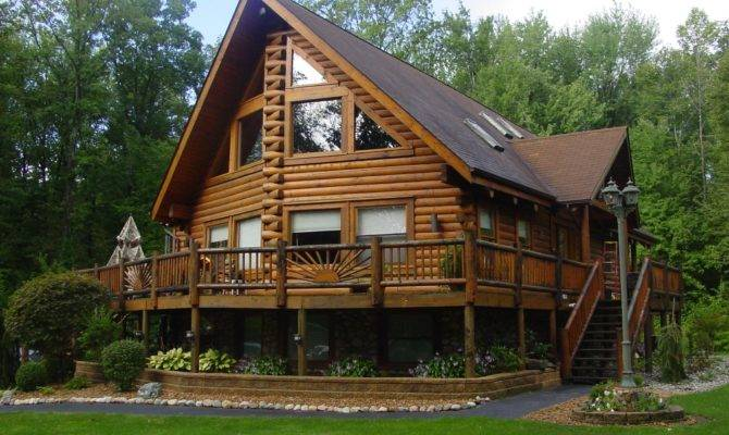 Log Houses Floorplans Floor Plans
