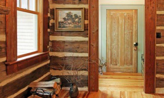 Log Window Trim Home Design Ideas Remodel Decor