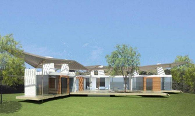 Long Modern Ideas Single Story House Plans