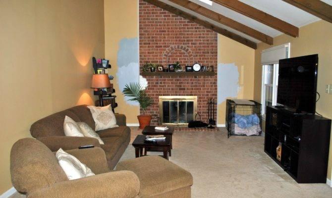 Long Narrow Living Room Fireplace Center
