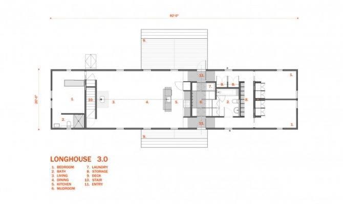 Longhouse Floor Plans Bedroom Architect Designed Plan Sets