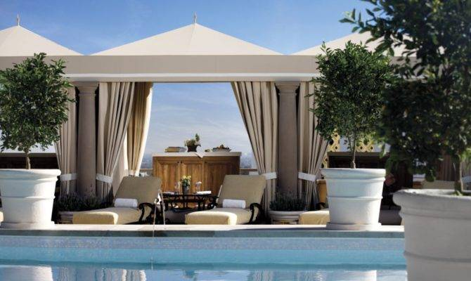 Look Feel Cabana Montage Hotel Beverly Hills