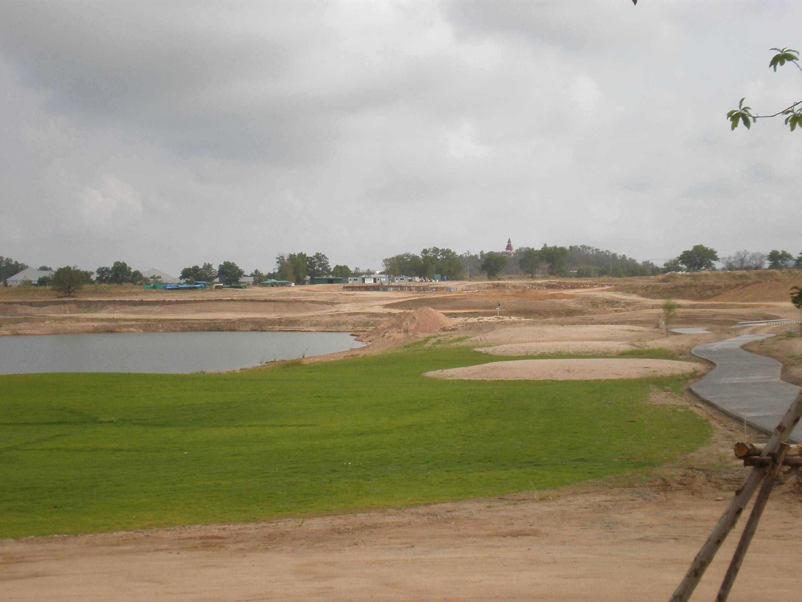 Looking Towards First Tee Clubhouse Construction