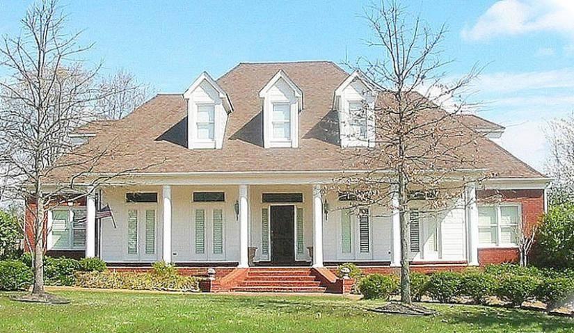 Louisiana Plantation Style House Plan Plans Floor Home