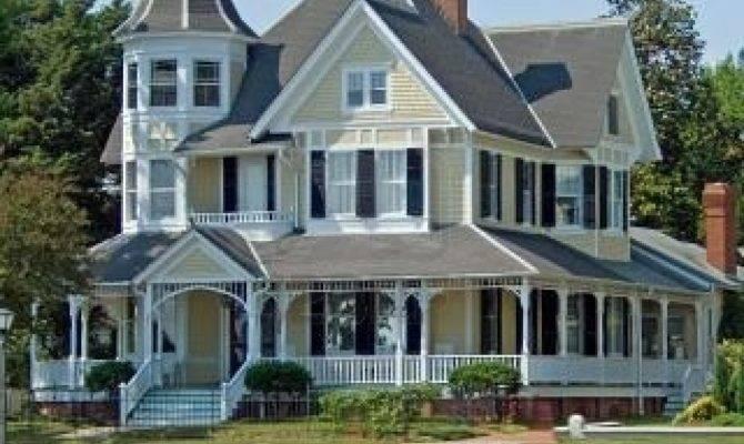 Love Victorian House Wrap Around Porch