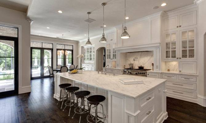 Love White Open Kitchen Concept Home Touches