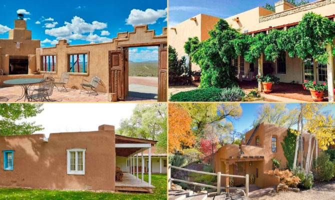 Lovely Pueblo Style Homes Honor Cinco Mayo