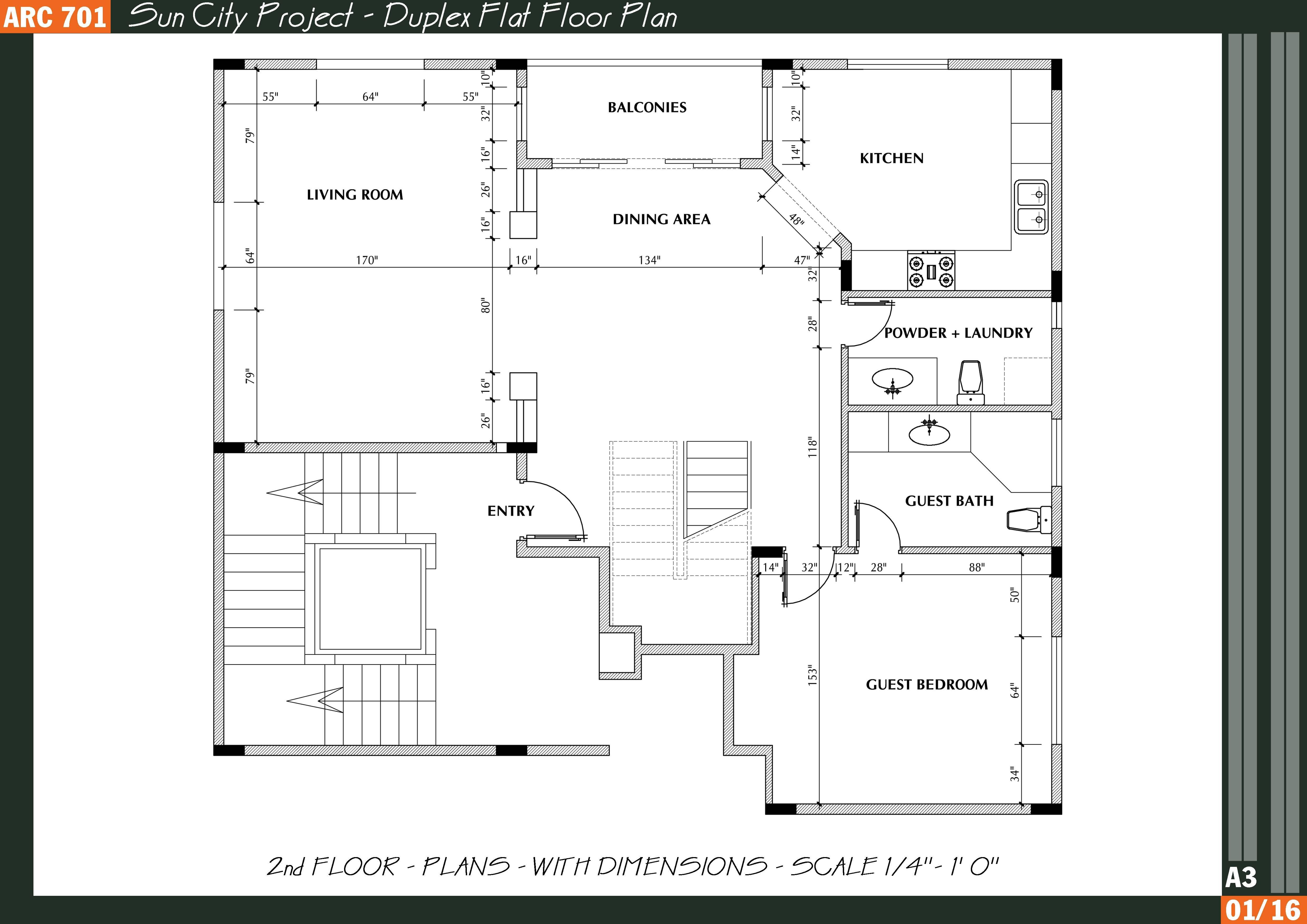Lovely Residential House Plans Floor Ideas