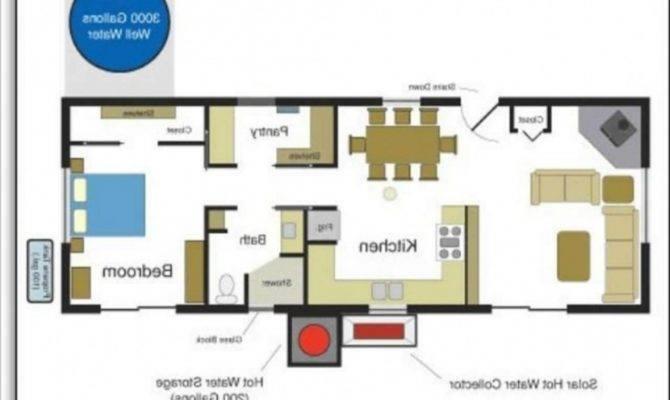 Low Budget Modern Bedroom House Design Floor Plan