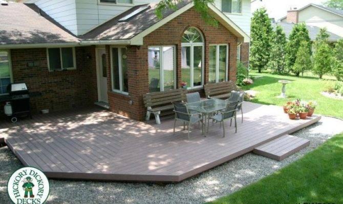 Low Diy Deck Plans