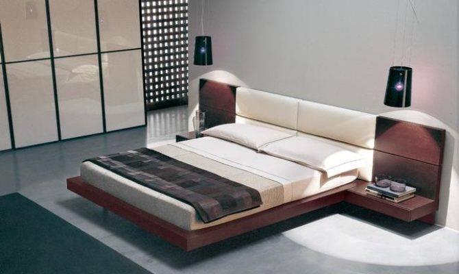 Low Floor Bed Designs Model Modern Style Floating