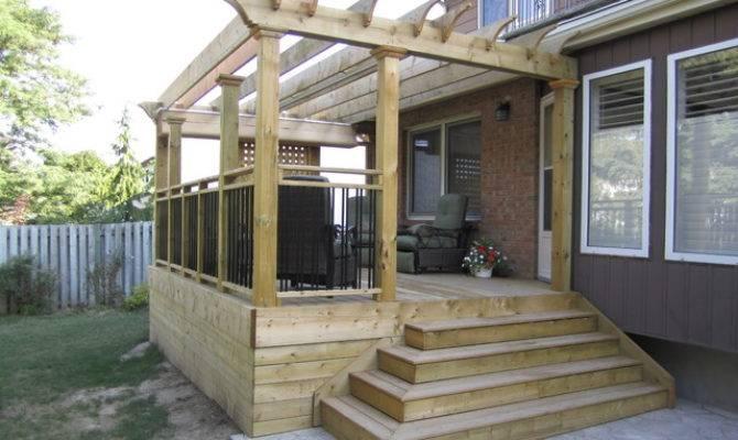 Low Level Decks Traditional Patio Toronto Jws