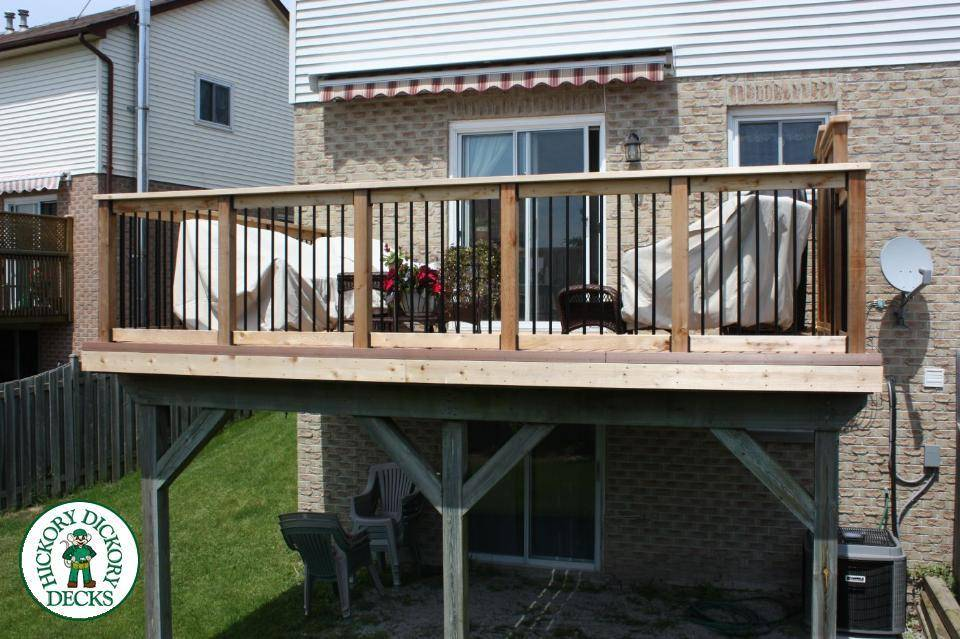 Low Maintenance Decks Northern Composite Deck