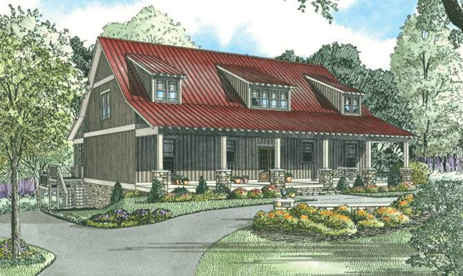 Lowcountry House Plan Front Home Plans More