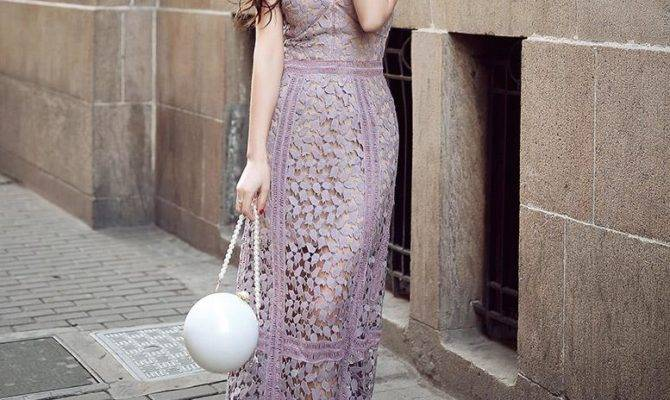 Luvvie Style Feminine Elegant Lace End