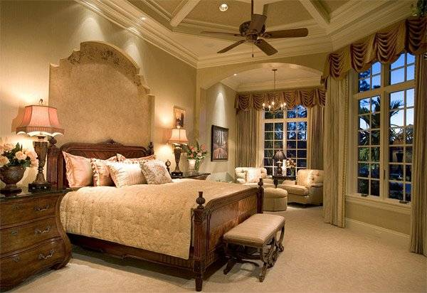 Luxurious Design Mediterranean Bedroom Home