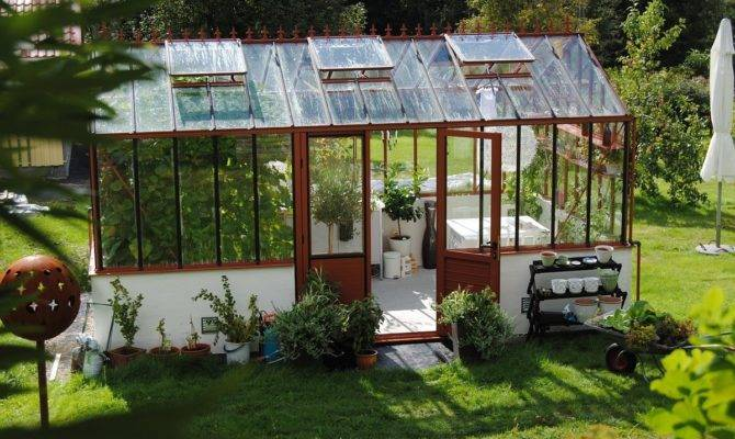 Luxurious Outdoor Decoration Ideas Mythos Greenhouse