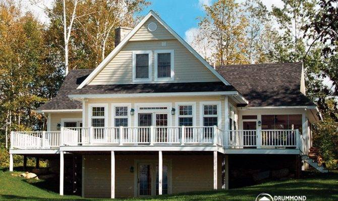 Luxurious Panoramic Chalet Great Room Drummond