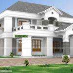 Luxurious Pillar Type Home Design Kerala