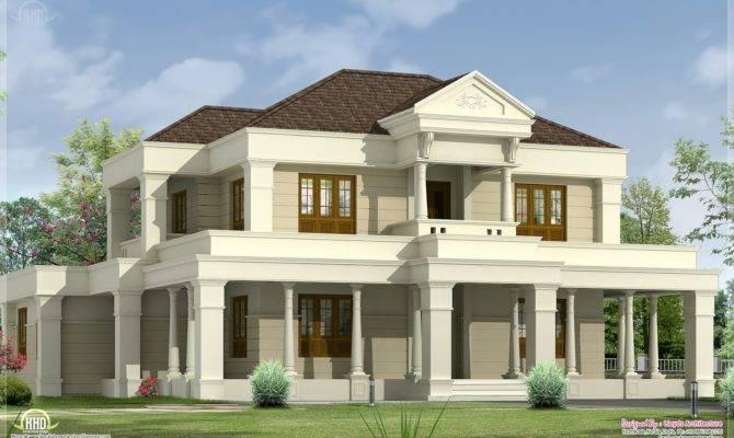 Luxurious Villa Exterior Design Kerala Home Floor Plans