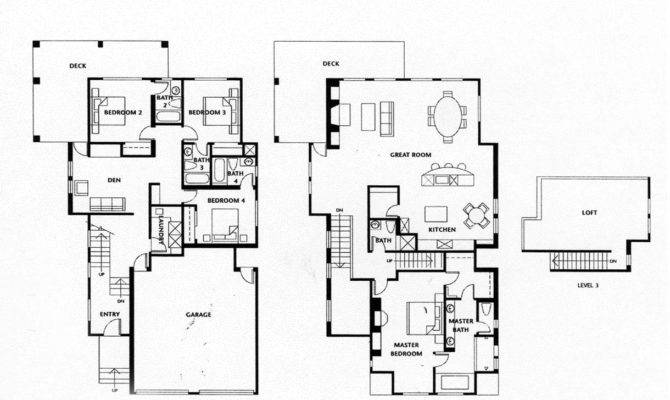 Luxury Bedroom House Plans Homes Floor