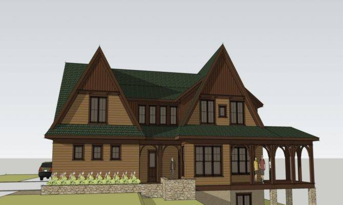 Luxury Craftsman Home Custom Designs