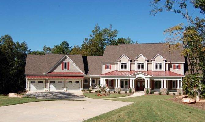 Luxury Craftsman House Plan Home Plans Blog